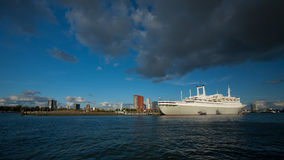 SS Rotterdam Cruise Ship, the Netherlands Royalty Free Stock Images