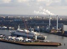 SS Rotterdam en Rotterdam Imágenes de archivo libres de regalías