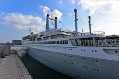 SS Rotterdam known as the  Royalty Free Stock Photos