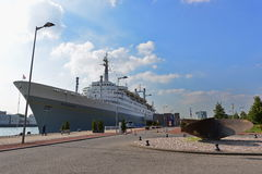 SS Rotterdam known as the  Stock Image