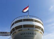 SS Rotterdam op een zonnige dag royalty-vrije stock afbeelding