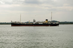 SS Shieldhall, historic ship, Southampton Royalty Free Stock Image
