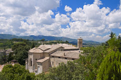 SS. Simone e Giuda Church. Spoleto. Umbria. Royalty Free Stock Photos