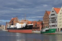 SS Sołdek Stock Images