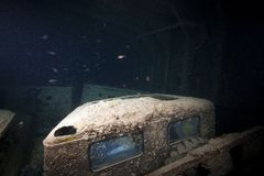 SS Thistlegorm cargo Royalty Free Stock Images