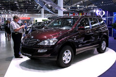 Ssang Yong Kyron Stock Photography