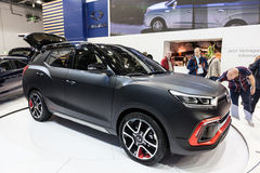 Ssang Yong XLV concept car at the IAA 2015 Stock Images