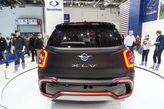 Ssang Yong XLV concept car at the IAA 2015 Stock Photo