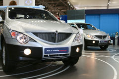 SsangYong Actyon Sport Royalty Free Stock Image