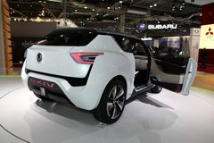 The Ssangyong eXIV Concept car Stock Image