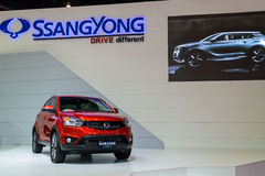 Ssangyong KORANDO. Stock Images