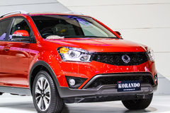 Ssangyong KORANDO car Stock Images