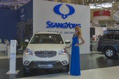 SsangYong Korando car model presentation Stock Image