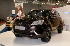 SsangYong NEW Action - russian premiere Stock Photography