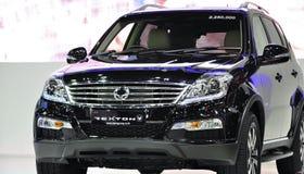 SsangYong new Rexton W at the 36th Bangkok International Motor Show Royalty Free Stock Image