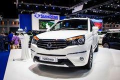Ssangyong nieuwe Stavic Turismo in Thailand zevenendertigste Internationale Motorshow 2016 Stock Fotografie