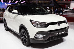 2016 Ssangyong onthuld Tivoli XLV Stock Foto's
