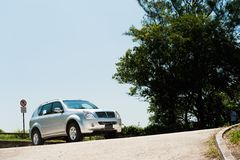 SsangYong Renton2 Royalty Free Stock Photo