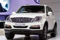 Ssangyong Rexton car Royalty Free Stock Photo