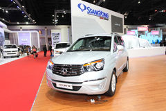 Ssangyong  Stavic car on display Royalty Free Stock Photography