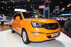 Ssangyong  Stavic car on display Royalty Free Stock Photos