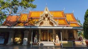 Ssangyong tempel, Chiang Mai, Thailand fotografering för bildbyråer