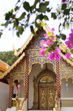 Ssangyong temple in Chiang Mai Stock Photos