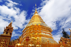 Ssangyong Temple in Thailand Royalty Free Stock Photography