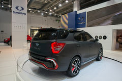 Ssangyong XLV-Air - world premiere. Royalty Free Stock Image