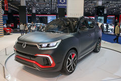 Ssangyong XLV-Air - world premiere. Stock Image