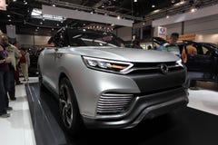 Ssangyong XLV begrepp SUV Royaltyfri Bild
