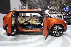 SsangYoug XIV de Auto van het Concept Stock Afbeeldingen