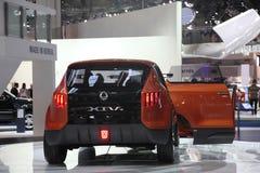 SsangYoug XIV de Auto van het Concept Royalty-vrije Stock Afbeelding