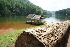 Ssanie w żołądku Ung jezioro Obraz Stock