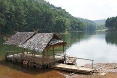 Ssanie w żołądku Ung jezioro Fotografia Stock