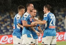 Free SSC Napoli Vs SS Lazio Stock Photography - 192322272