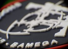 Sscb del club di logo Fotografia Stock Libera da Diritti