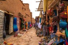 SScene del mercado en ciudad del desierto Fotos de archivo