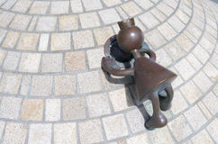 Ssculptures from the American Tom Otterness. Royalty Free Stock Photography