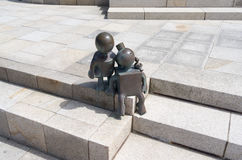 Ssculptures da Tom Otterness americano Immagine Stock
