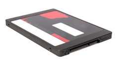 SSD hard disc with SATA connection Royalty Free Stock Image