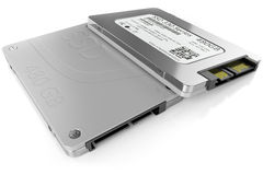 SSD hard disk Stock Image