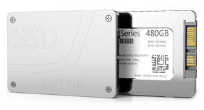 SSD hard disk Royalty Free Stock Photo