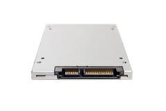 SSD semi conduttore dell'azionamento - isolato Immagine Stock