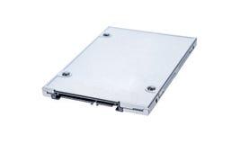 SSD semi conduttore dell'azionamento isolato su fondo bianco Immagini Stock