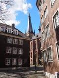 Sseldorf παλαιά πόλη DÃ ¼ Στοκ φωτογραφία με δικαίωμα ελεύθερης χρήσης