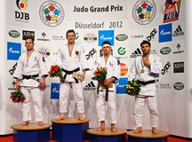 Sseldorf Alemania del ¼ de Grandprix 2012 DÃ del judo Fotos de archivo