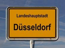 sseldorf de d Allemagne Photographie stock