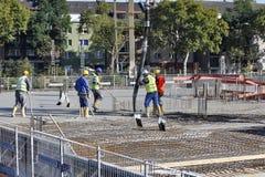 Sseldorf de ¼ de DÃ, Allemagne - boom de construction Photo libre de droits
