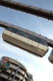 Sseldorf SkyTrain de ¼ de DÃ Photographie stock libre de droits
